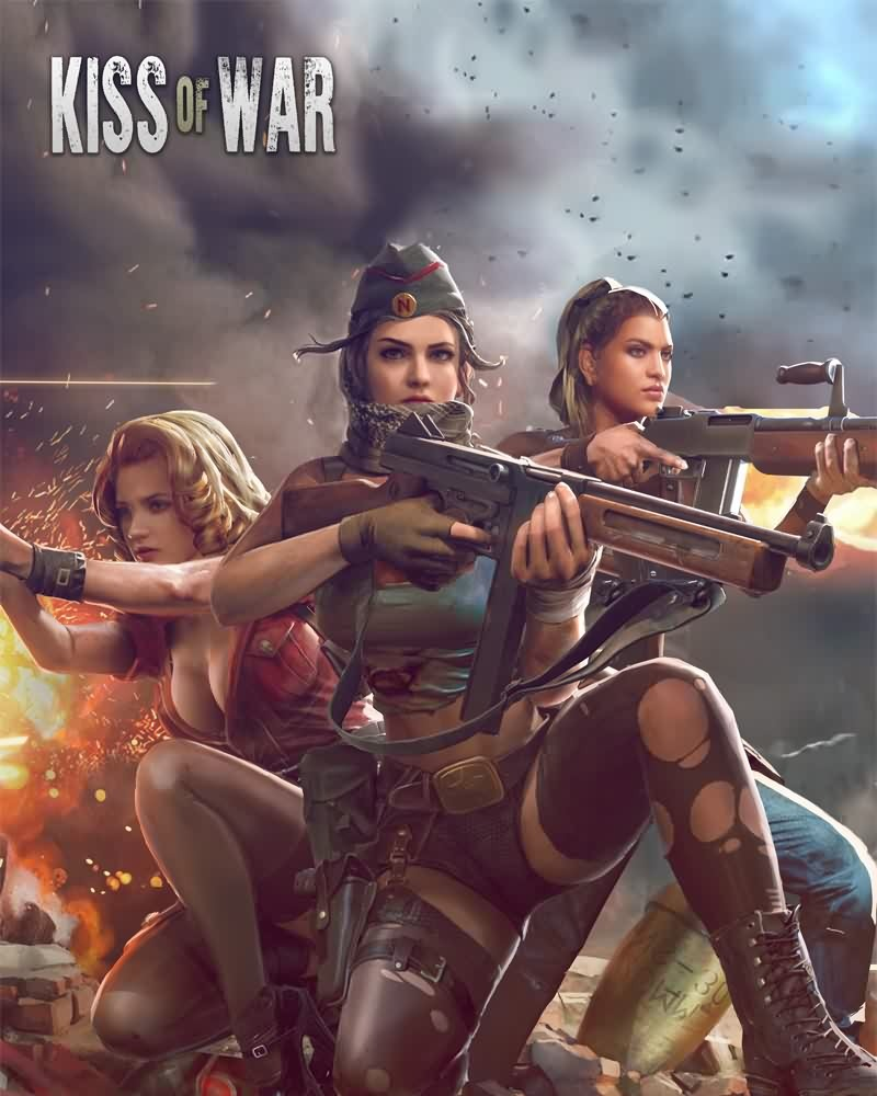 Kiss of war - banner