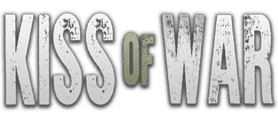 Kiss of war - logo