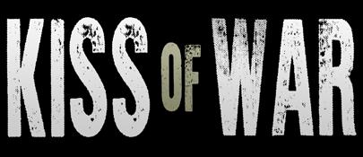 Kiss of war - logo